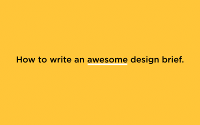 How to Write an Awesome Design Brief
